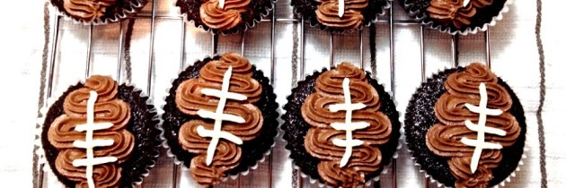 Football Cupcakes (and a Trip to San Francisco)