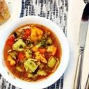 Tomato Vegetable Tortellini Soup