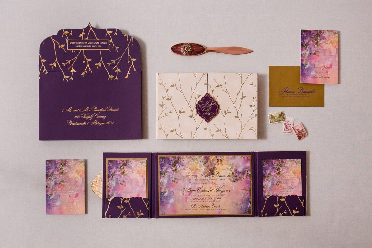 enchanted forest invitations
