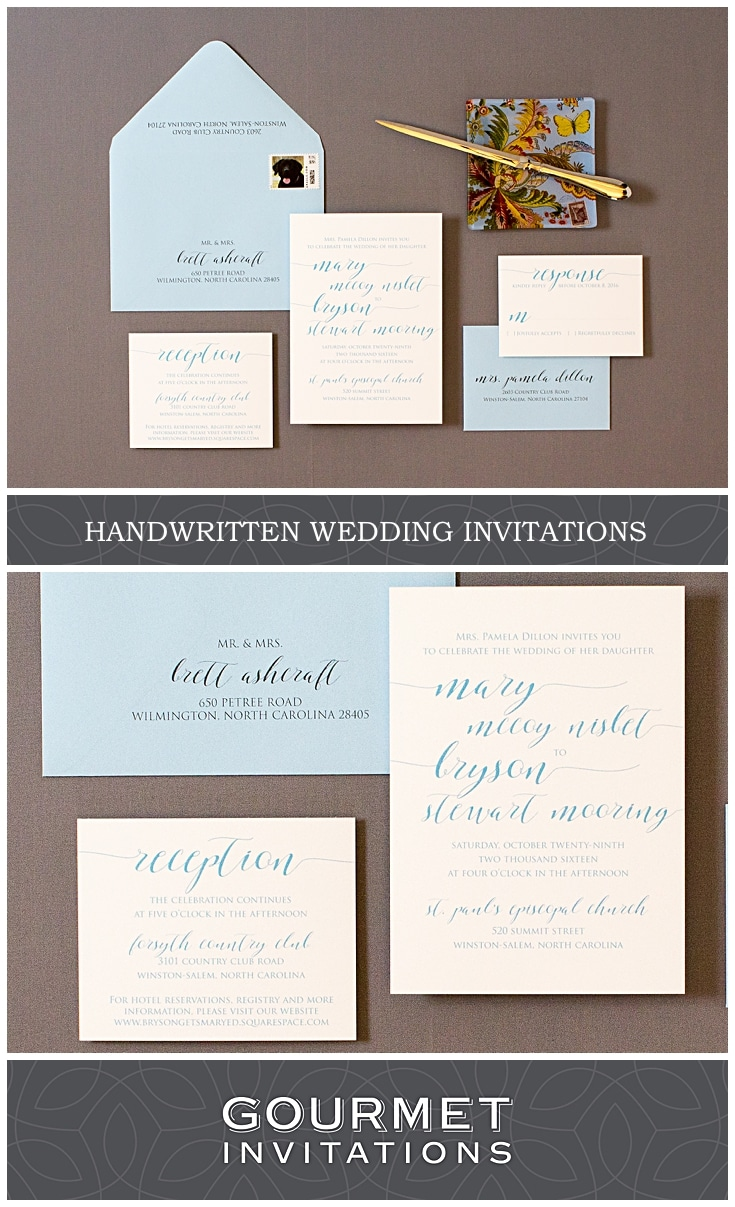 CONTACT US TODAY TO CREATE HANDWRITTEN INVITATIONS FOR YOU!