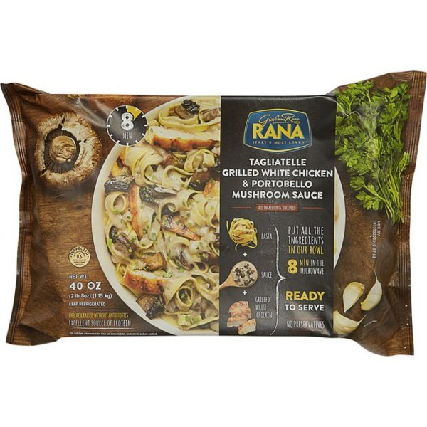 Rana Tagliatelle Grilled White Chicken & Portobello Mushroom Sauce Front