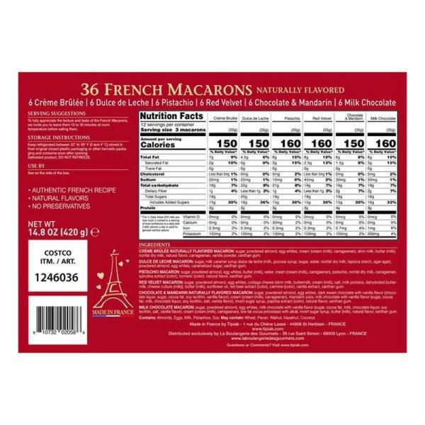 Tipiak French Macarons Back