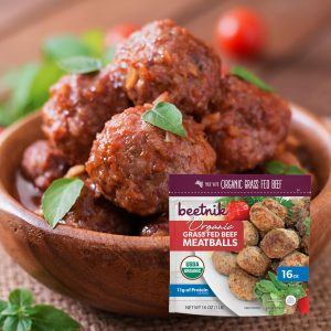 Beetnik Meatballs Plated 1 Square V2