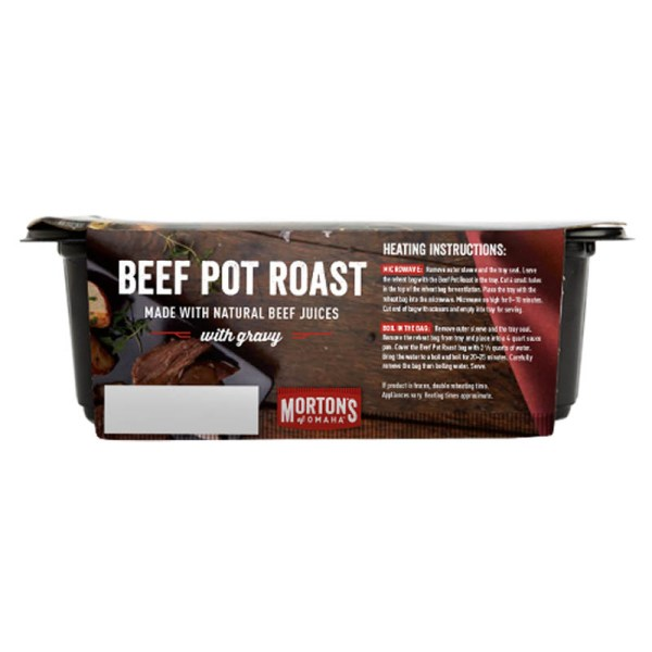Mortons of Omaha Beef Pot Roast Side 1