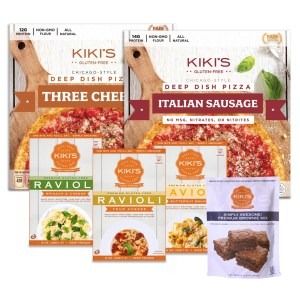 Kiki's Deep Dish Dinner Bundle with Brownie Mix