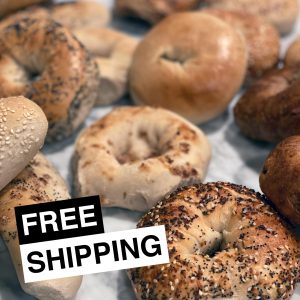 New York Bagel & Bialy Bagels Free Shipping