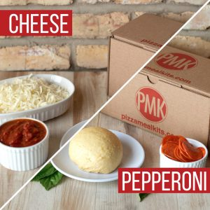 Pizza Meal Kits - Cheese and Pepperoni Pizza Bundle