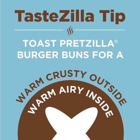 Pretzilla Burger Bun Tips