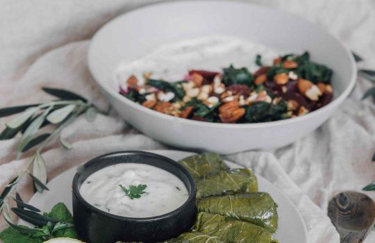 Dolma with Vegan Mince + Bulgur Wheat- Azerbaijan