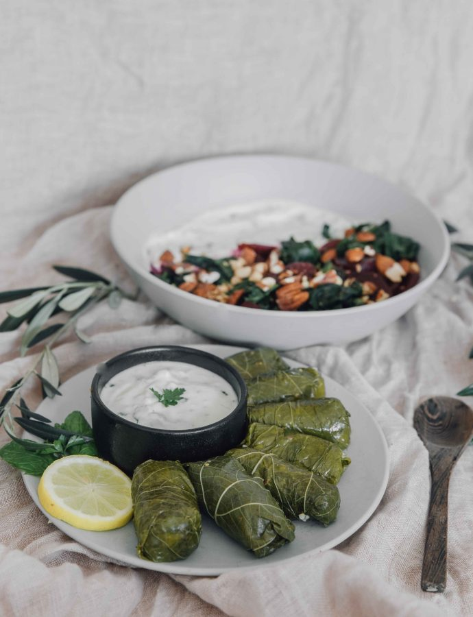 Dolma with Vegan Mince + Bulgur Wheat- Azerbaijan