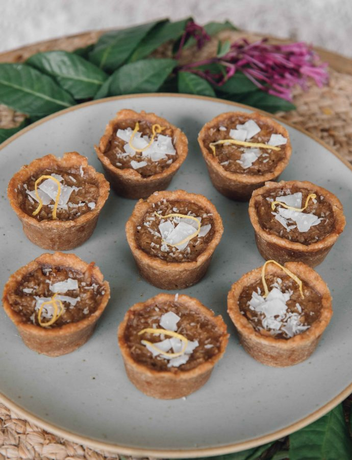 Vegan Coconut Tarts- Belize
