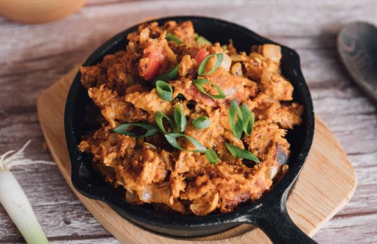 Vegan Moambe Chicken (Poulet Moambe)- Democratic Republic Congo