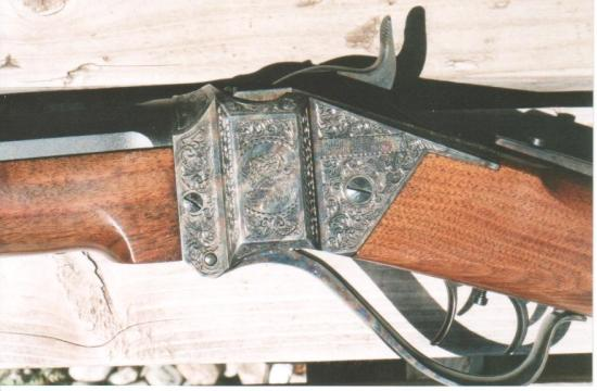 1874 Shiloh Sharps Long Range Express Rifle