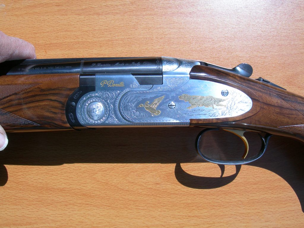"Beretta ""Gold Pigeon"" O/U shotgun for sale"