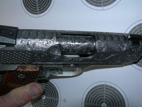 Kimber - Gouse Freelance Firearms Engraving - Gun Engraver
