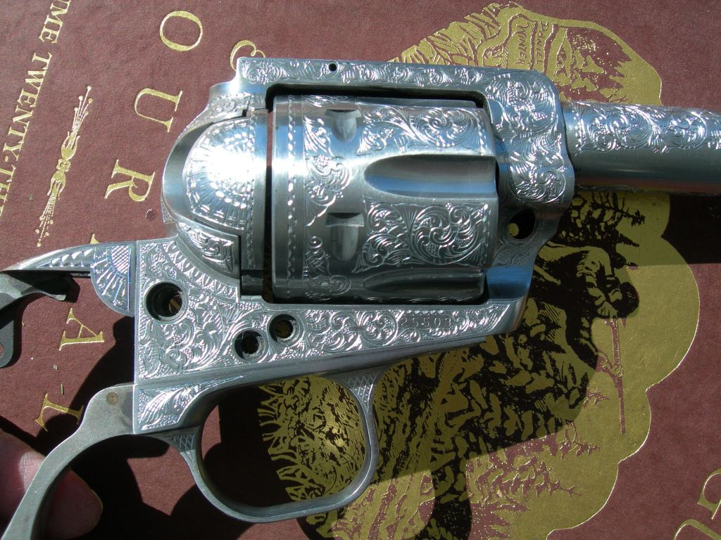 Custom American Scroll JRH Ruger #5