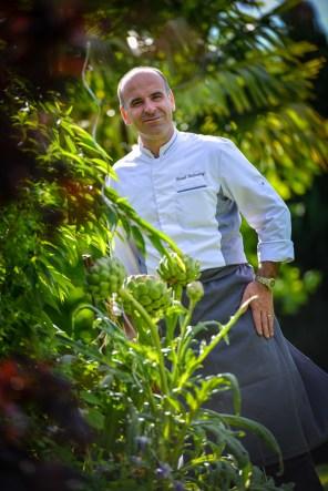 David Etcheverry, chef étoilé du Saison