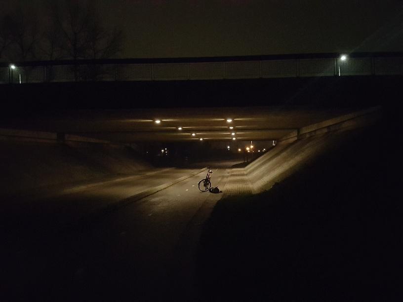 Verlichting in viaduct Boksumerdyk werkt weer