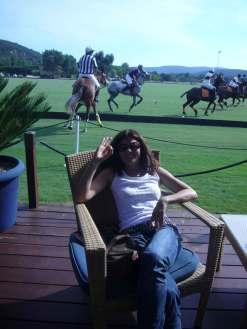 C.Gouveiac take a breack at Polo club Gassin saint Tropez 2009
