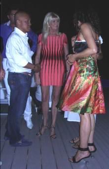 Ivana Trump and CG Saint Tropez