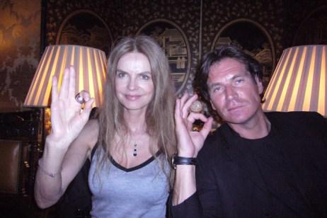 L'actress Cyriel and YvesMarie Paris 2009