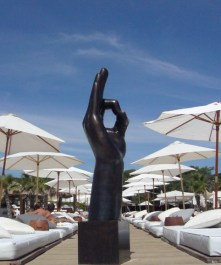 Yes to Life - Bronze - 220cm H