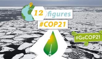 The #COP21 in 12 figures