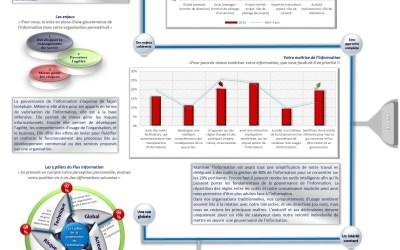 Infographie gouvernance de l'information en 2015 – 1/9 – Les enjeux