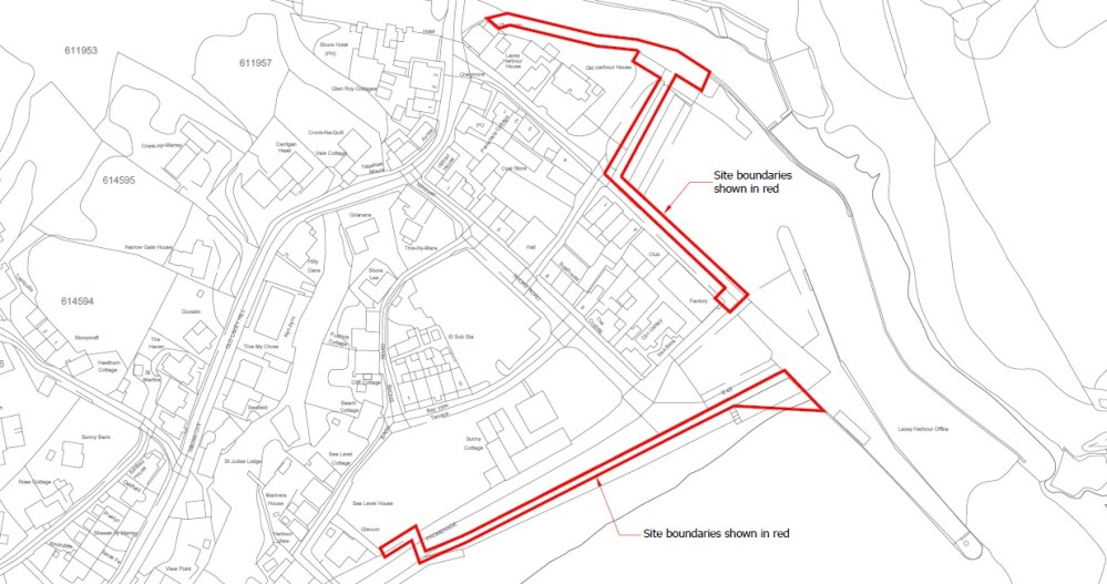 medium resolution of revised laxey sea wall planning application submitted