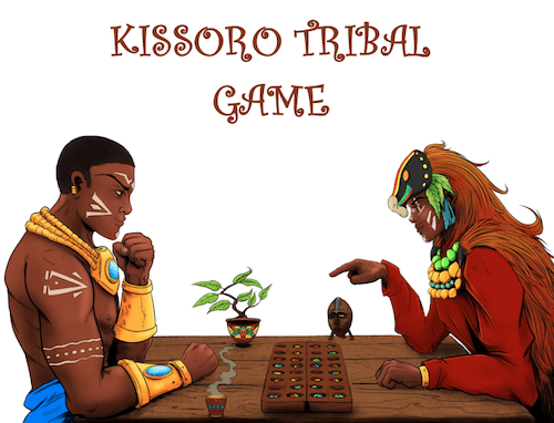 "With ""Kissoro Tribal Game"" Teddy Kossoko wants to promote African history and cultures"