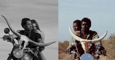 "Beyoncé and JAY-Z's On the Run II Poster inspired by Senegalese movie ""Touki Bouki"""