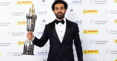 Football: Mohamed Salah crowned best player of the Premier League