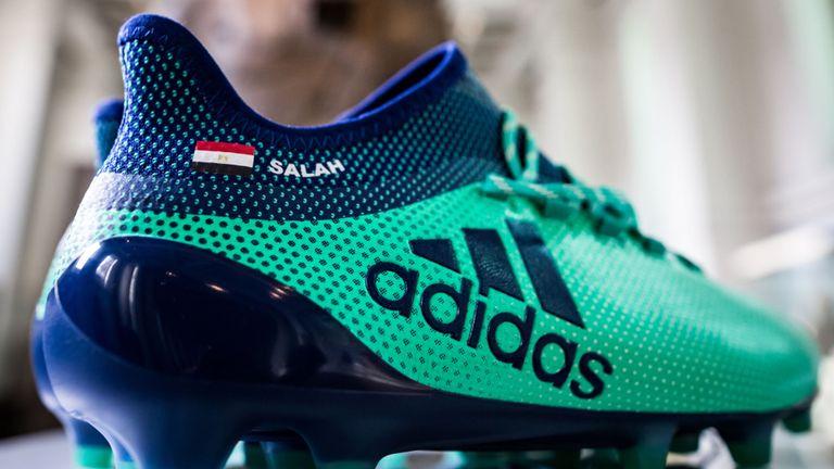 Moh Salah's adidas X17 Deadly Strike