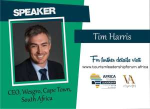 Pictured Tim Harris who is going to be a speaker at the inaugural tourism event