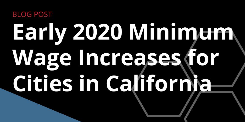2020 minimum wage rates for california