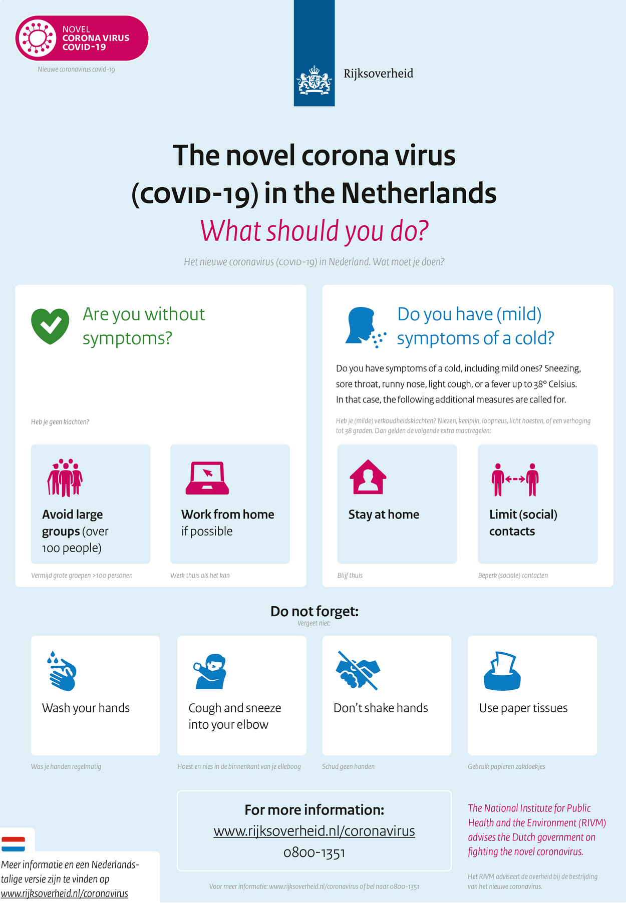 New measures to stop spread of coronavirus in the Netherlands ...