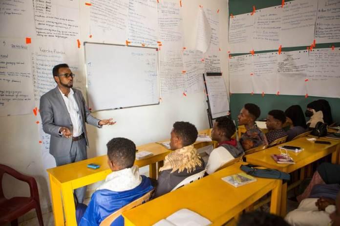 Training voor jonge ondernemers