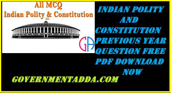 Indian Polity Book Pdf