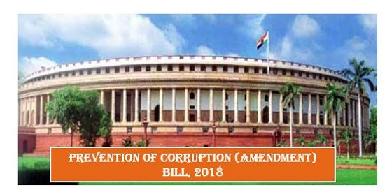 Image result for prevention of corruption (amendment) bill 2018
