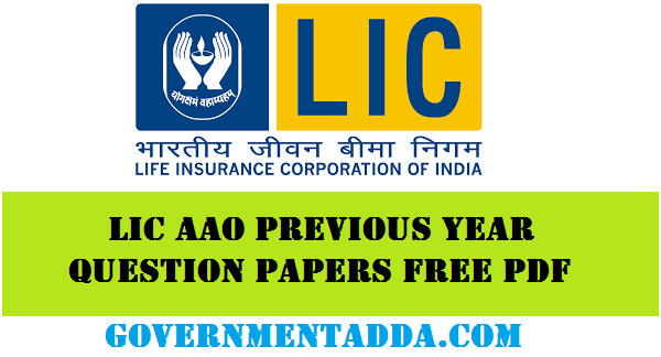 Lic Aao Exam Papers Pdf 2015