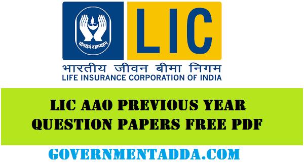 Lic Exam Paper Pdf
