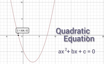 Quadratic equation example questions for Bank exams