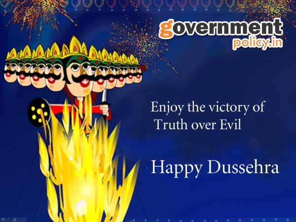 Wishes a very Happy Dussehra to all READERS