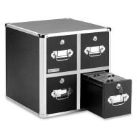 4-Drawer Vaultz CD Cabinet IdeaStream VZ01049 IDEVZ01049 ...
