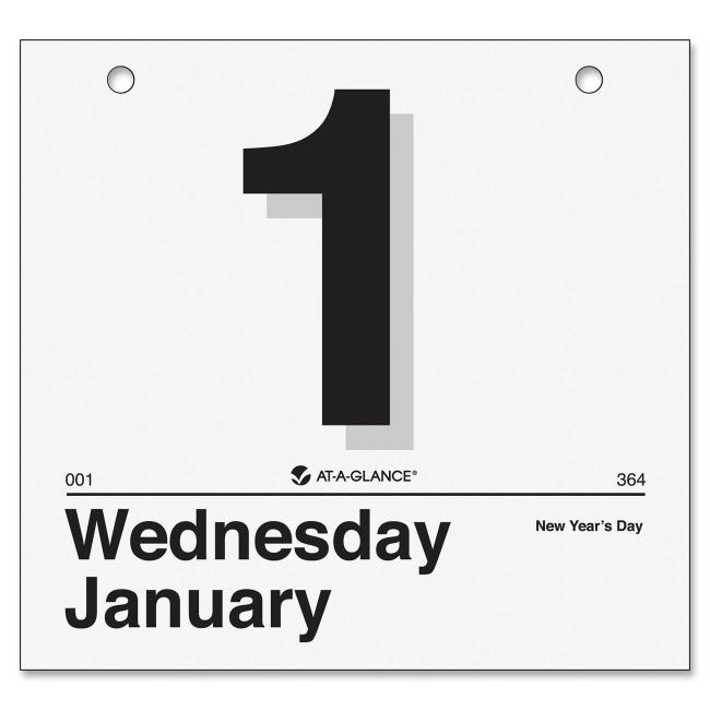Mead Today Is Wall Calendar Refill K4-50 AAGK450