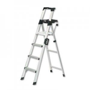 Telesteps Telescopic Extension Ladder, 18 ft, 300lb, 14