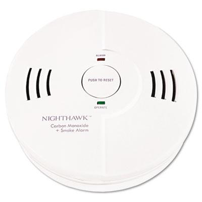 Night Hawk Combination Smoke/CO Alarm w/Voice/Alarm