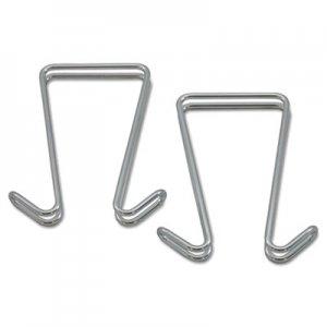 Genpak Adjustable Cubicle Hangers, Black, Set of Two UNV08173