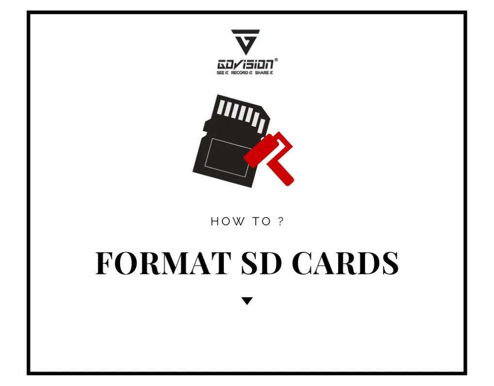 FORMAT SD CARDS 1