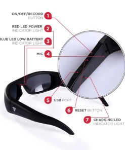 Water Resistant Camera Sunglasses 8